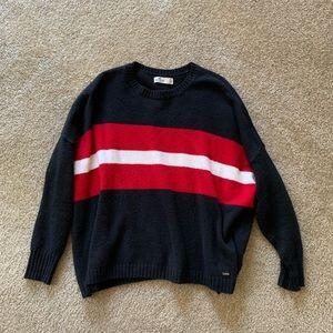 Hollister Oversized Colorblock Sweater